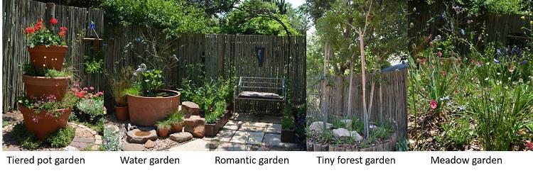 Small Garden Ideas   Random Harvest Plant Nursery Johannesburg